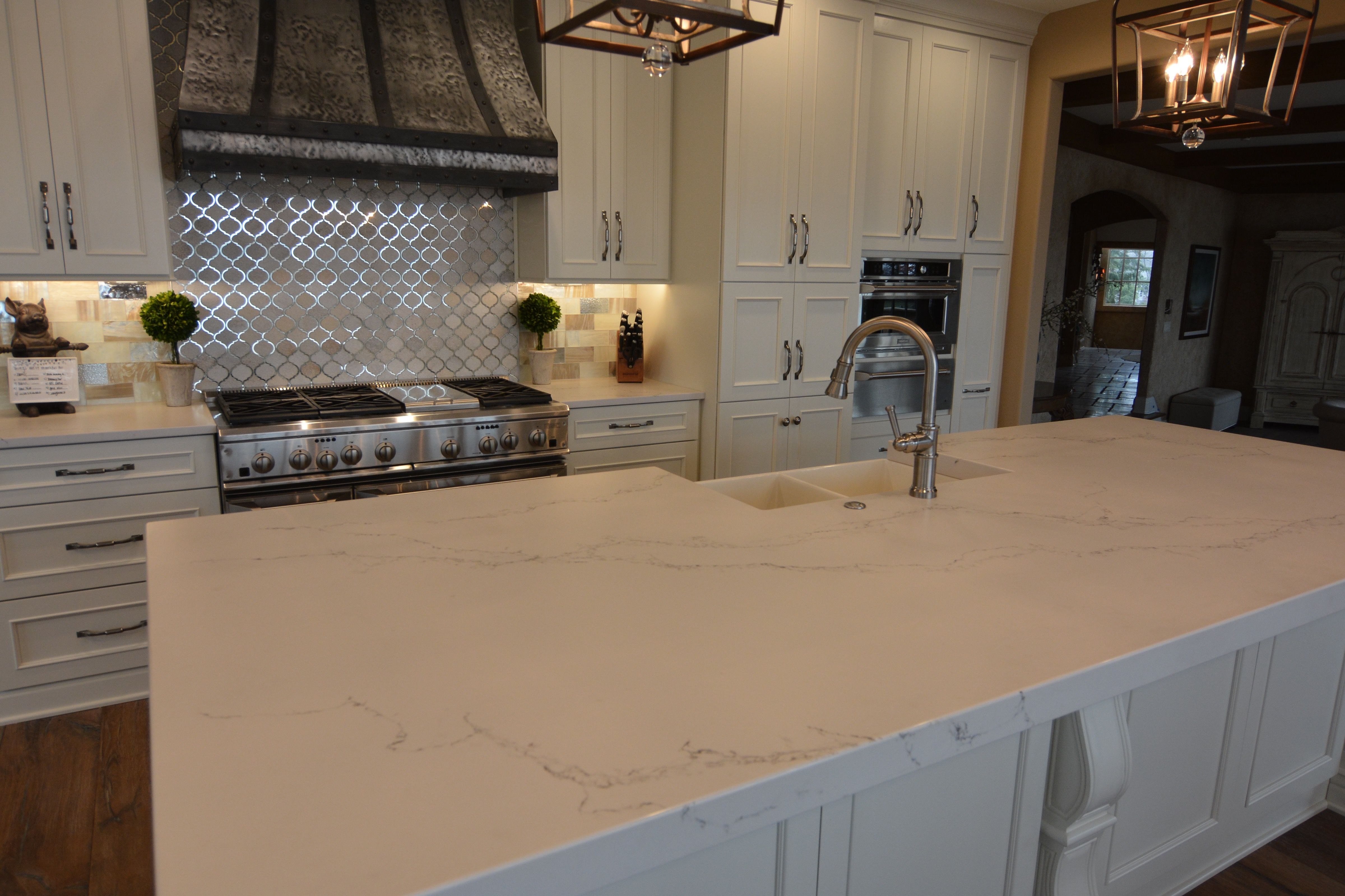 Caesarstone Statuario Nuvo In A Honed Finish Chateau Kitchens