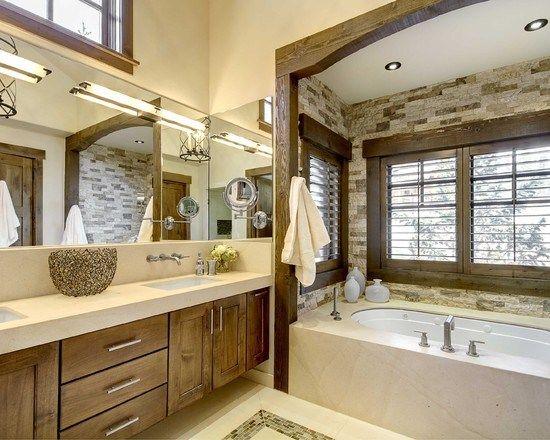 Modele de salle de bain zen & nature 288.jpg (550×440)   Salle de ...