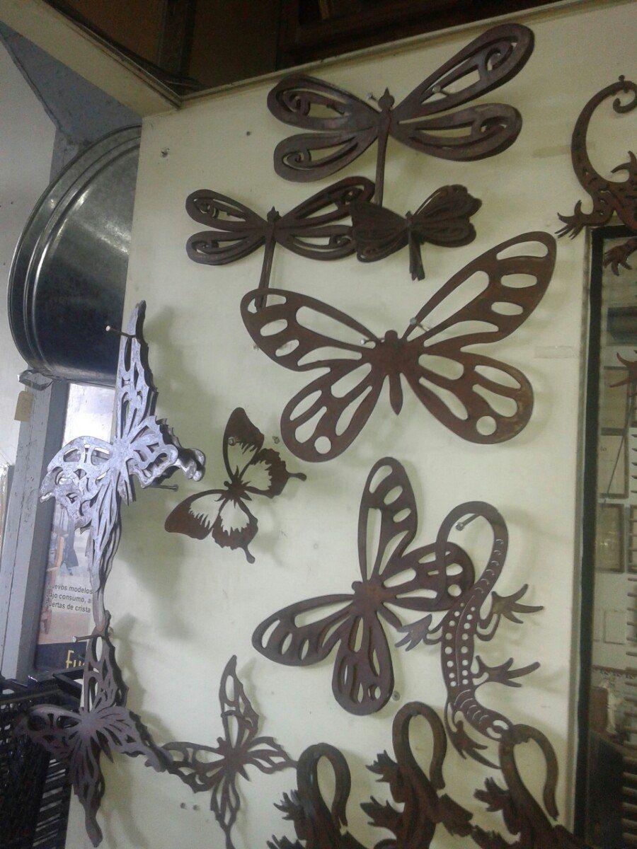 Figuras de hierro para pared figuras de herrer a y for Decoracion colgar pared