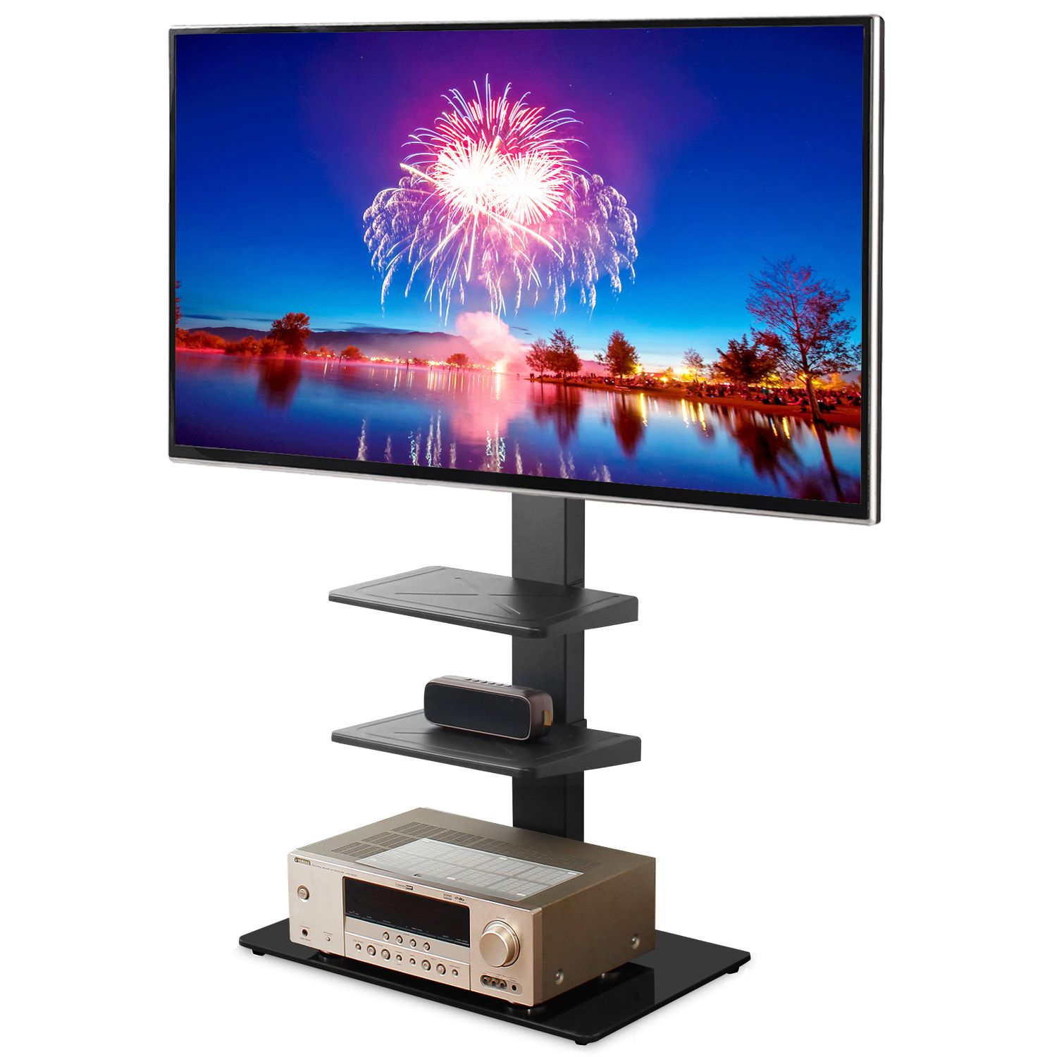 Free 2 Day Shipping Buy 5rcom Floor Corner Tv Stand With Swivel
