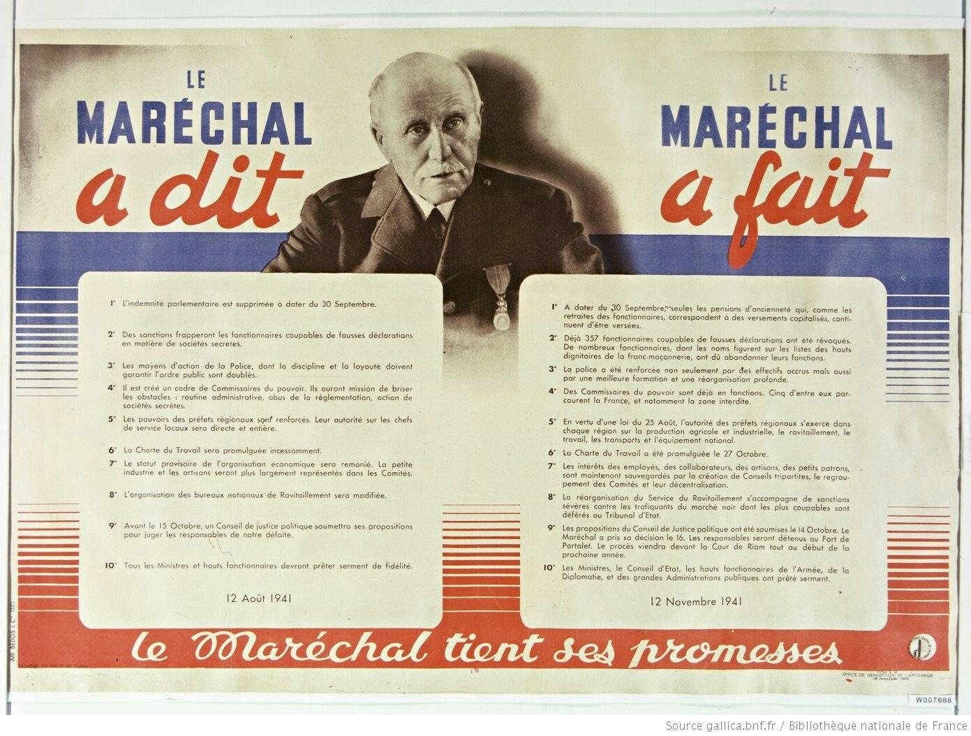 French Vichy Propaganda Poster Pin By Paolo Marzioli Propaganda Posters Propaganda World War