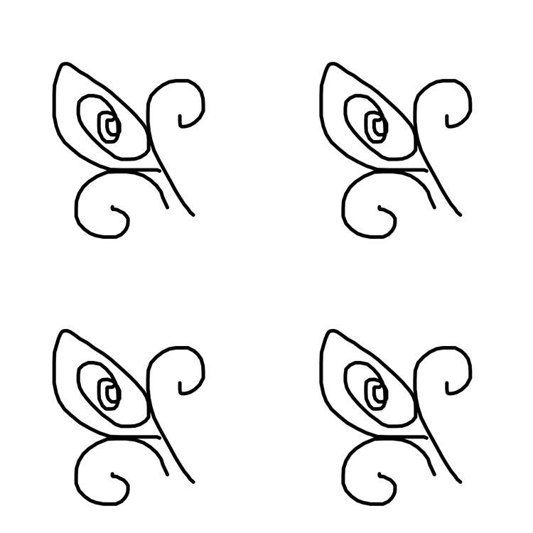Pinning From Genue Pattern Design Black White Pattern White
