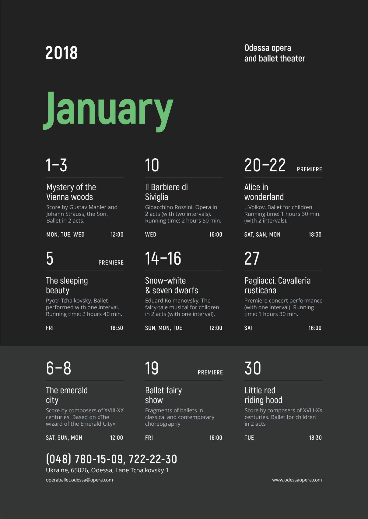 Schedule Event Poster Vol 4 Events Calendar Design Schedule Design Layout Event Schedule Design