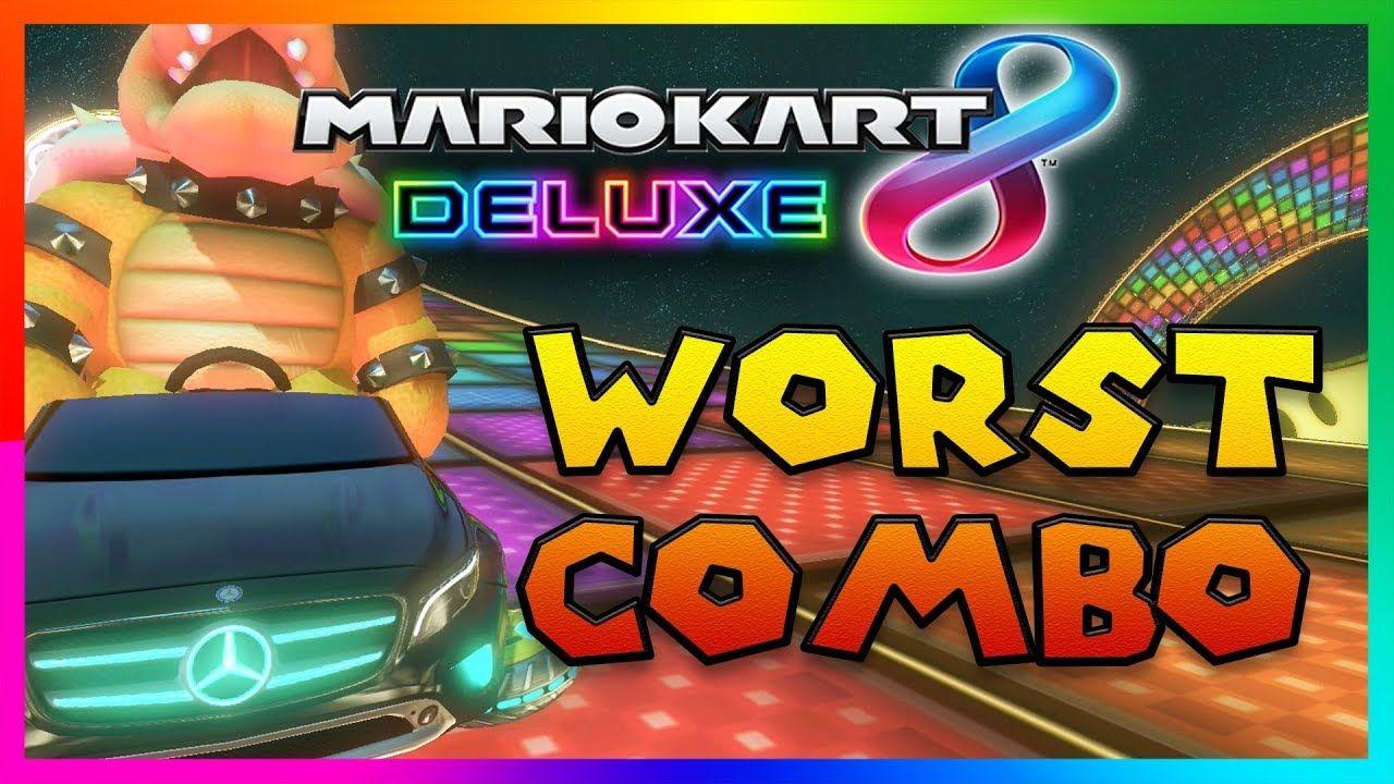 The Worst Combination In Mario Kart 8 Deluxe 200cc Online Mario Kart Mario Kart 8 Pokemon