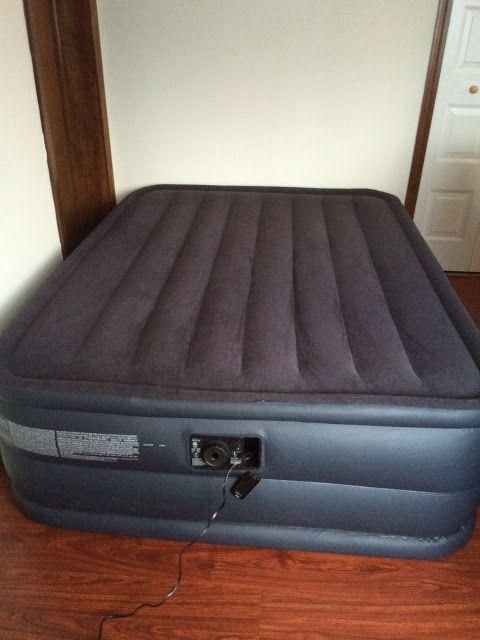 INTEX Airbed, das aufblasbare Gaestebett. Mein Produkttest #Intex #Produkttest