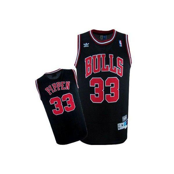 519de3ac0dfbe Camiseta Chicago Bulls retro - Pippen negra - Basket3C.com ¡Tu tienda de  Basket online!