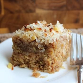 Apple Raisin Oatmeal Cake