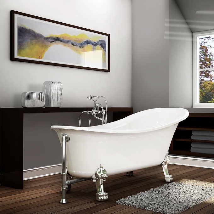 Appollo Hibana 59 In Clawfoot Bathtub Combo With Images