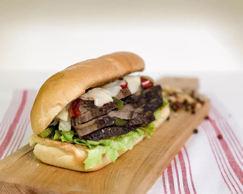 This Philly Cheese Steak Sandwich Is The Real Deal Recipe Philly Cheese Steak Sandwich Sandwiches Grilled Sandwich Recipe