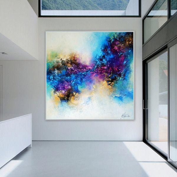 Lila Liebe 9 Gemalde Acryl Bild Kunst Unikat Von Kunstgalerie