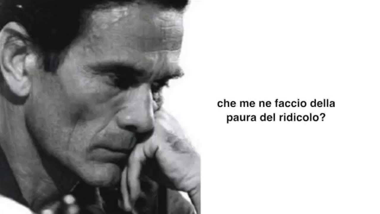 Pier Paolo Pasolini Frasi Cerca Con Google پرسه در سخنان