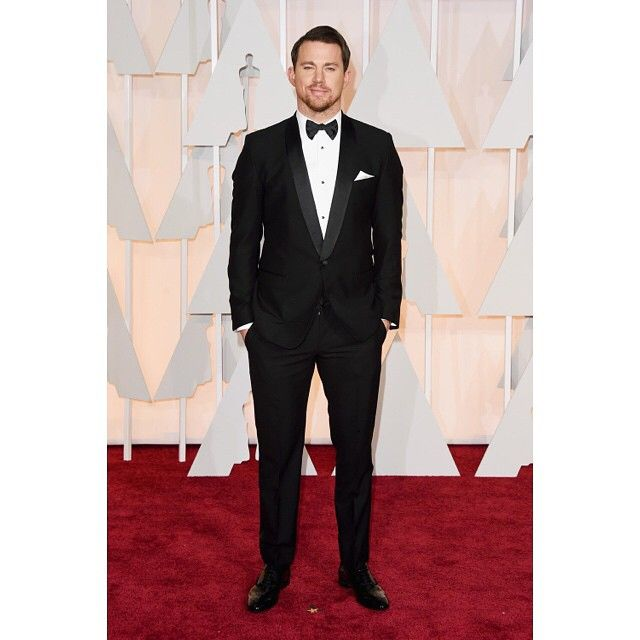 #StefanoGabbana Stefano Gabbana: Channing Tatum wearing Dolce&Gabbana to the 87th Annual Academy Awards on February 22, 2015. #oscars #oscars2015 #dgcelebs ❤️❤️❤️#dgfamily