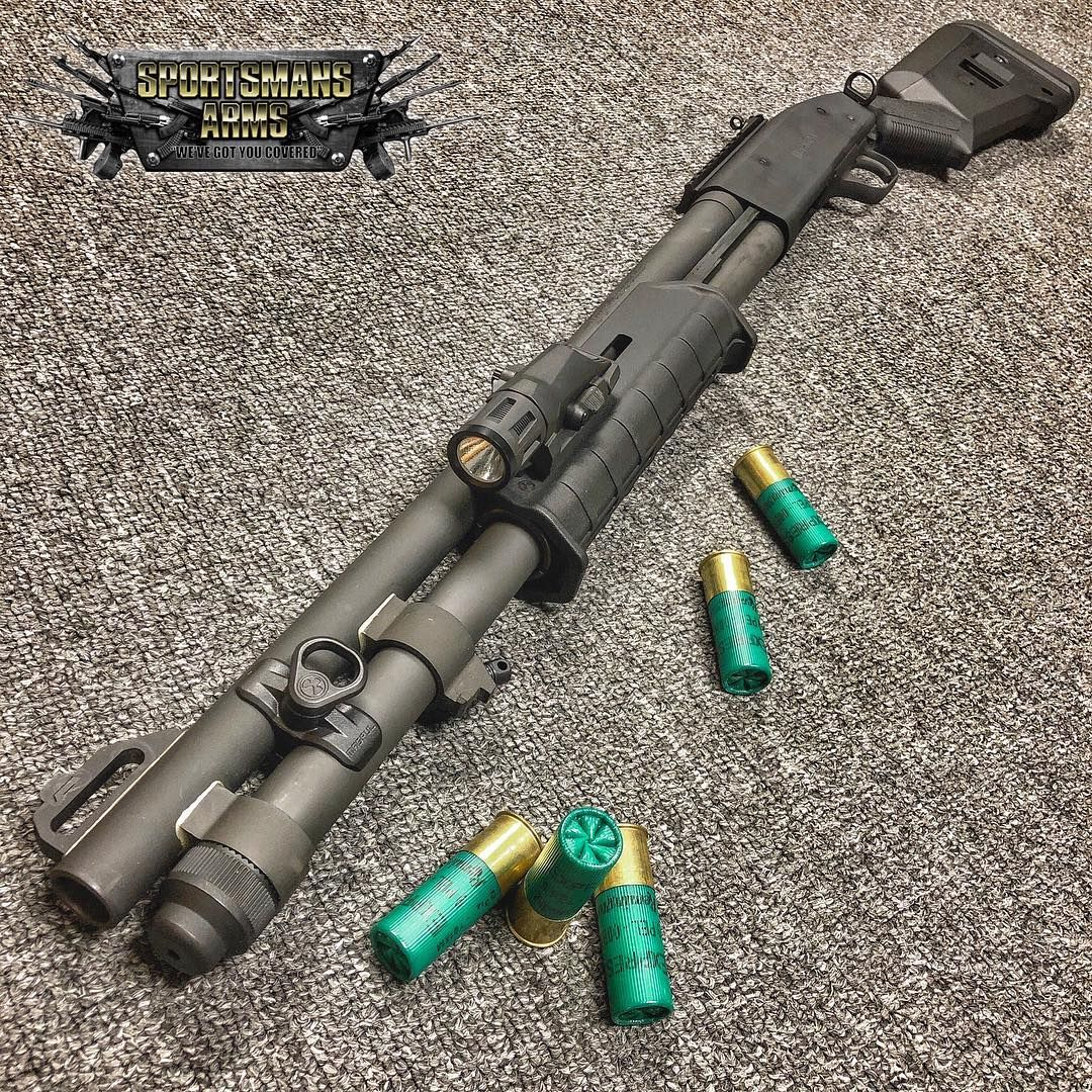 Mossberg 590A1 12ga with Magpul furniture and Inforce WML