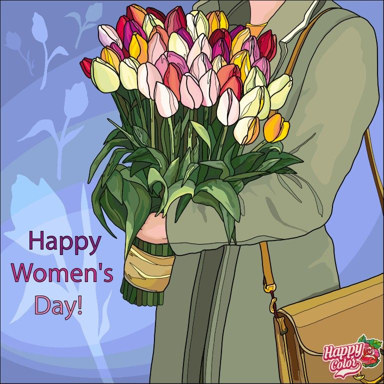 Pin by Екатерина on Весна прийшла in 2020   Happy woman ...