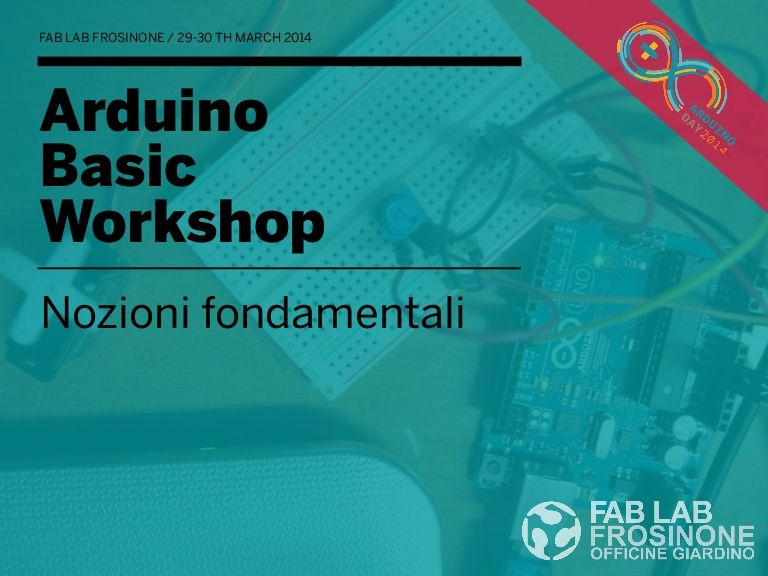 Arduino basic workshop