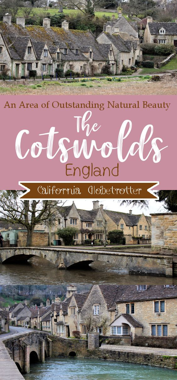 The Cotswolds: An Area of Outstanding Natural Beauty #travelengland