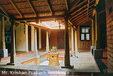 Vernacular Houses With Images Village House Design Courtyard