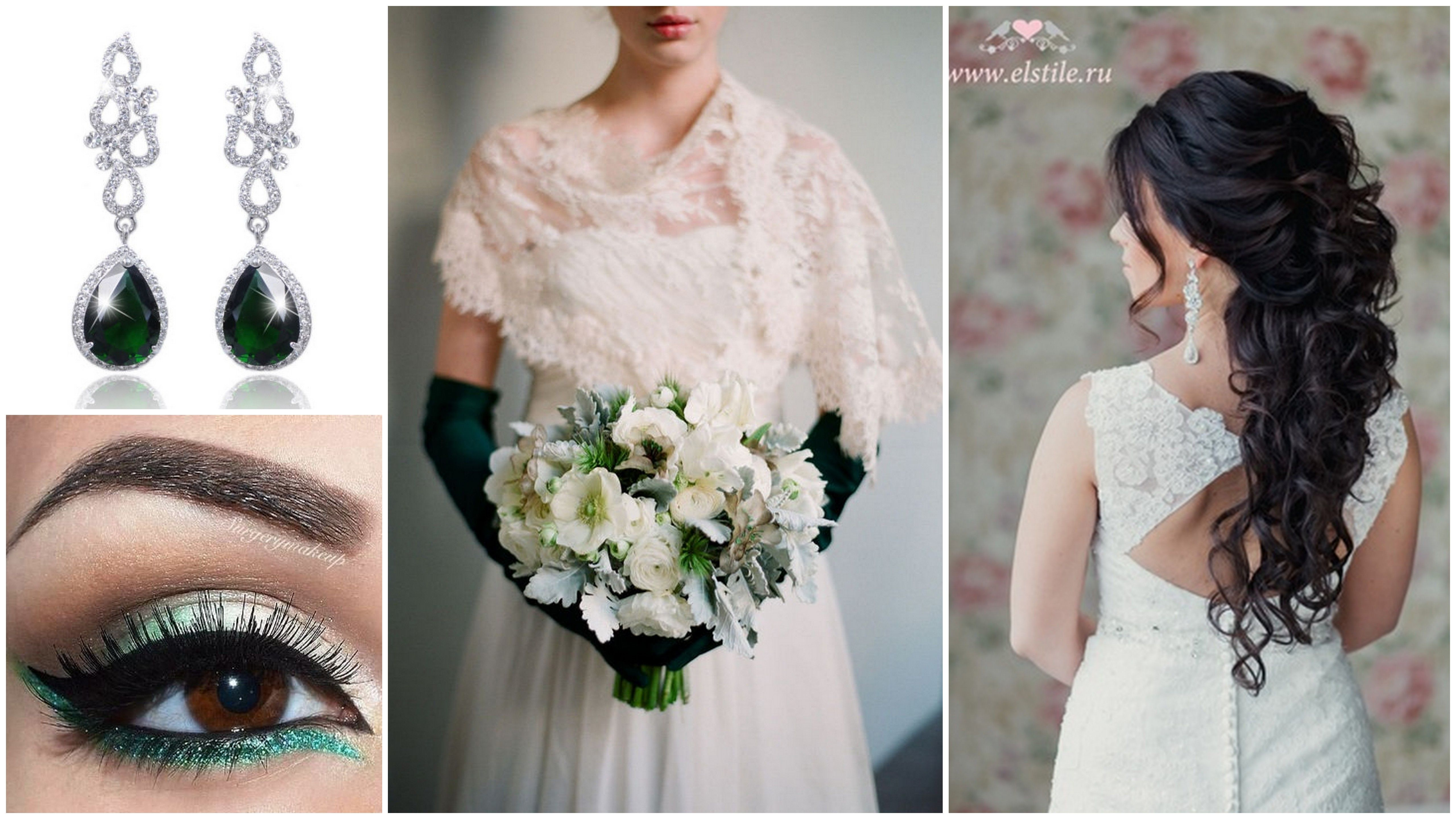 Slubne Sos Pani Lily Emerald Wedding White Bride Wedding