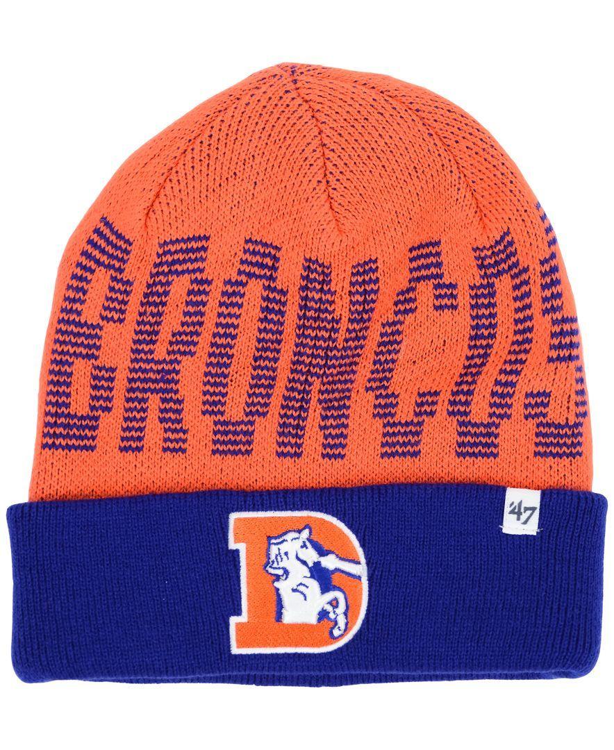 '47 Brand Denver Broncos Reynard Knit Hat