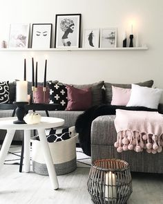 plaid sorbet strada 39 s pinterest couchtisch grau sofa grau und kissen sofa. Black Bedroom Furniture Sets. Home Design Ideas