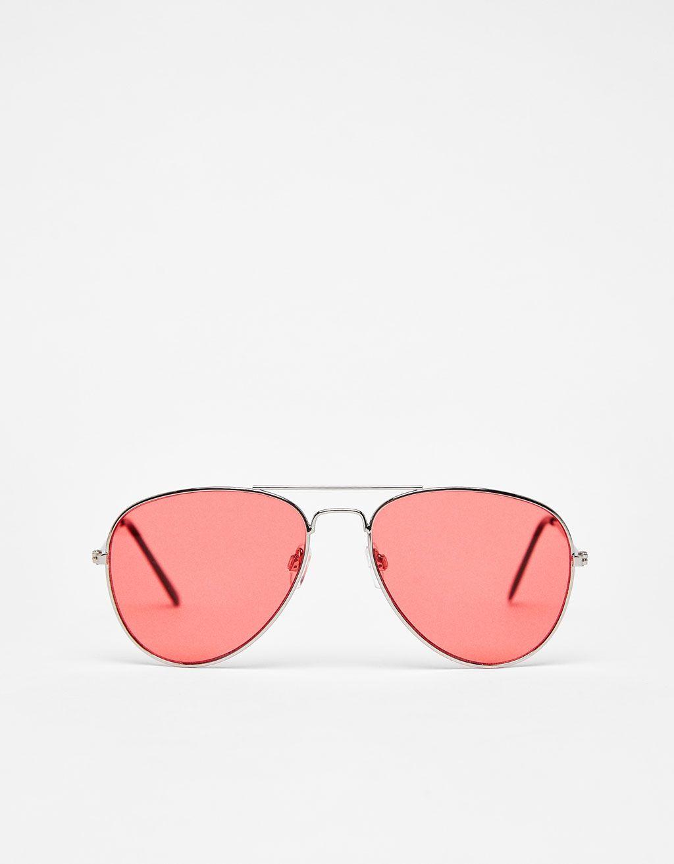 a68622aab8 Metal aviator sunglasses | Various Accessories | Sunglasses, Glasses ...