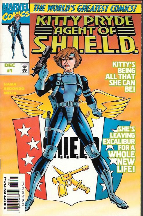 Kitty Pryde, Agent of S.H.I.E.L.D. # 1 Marvel Comics