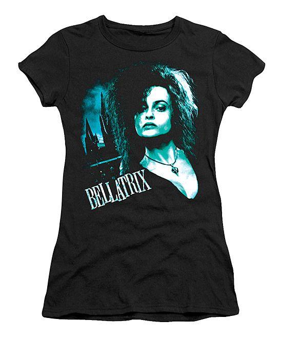 Harry Potter Black Bellatrix Close-Up Tee - Juniors | zulily