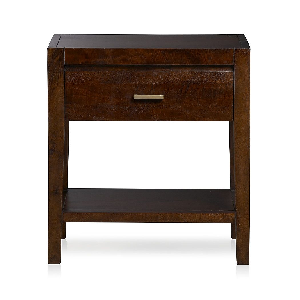 Dawson clove nightstand crate and barrel