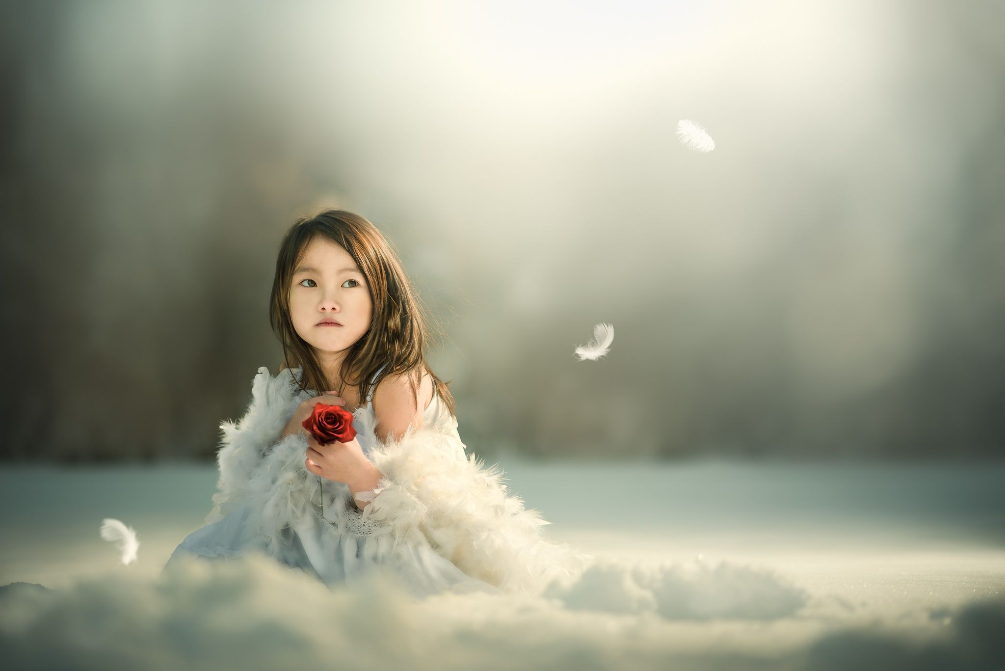 Little girl/ Almost frozen by Zeb Siong on 500px