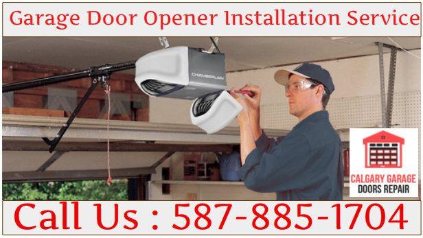 Calgary Garage Door Opener Installation Repair Replacement