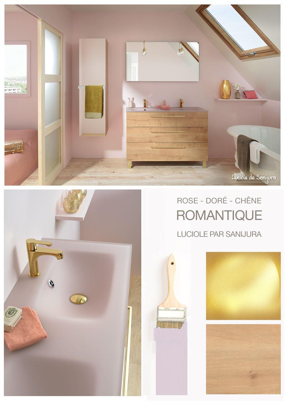 Envie d\'une salle de bain romantique, féerique et tout en douceur ...