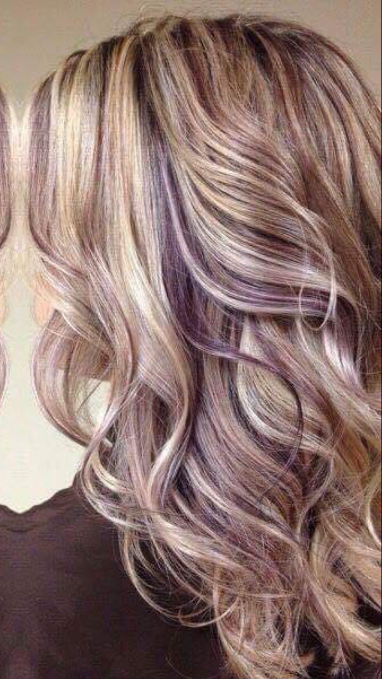 Hair Goals Gorgeous Hairstyles That Ll Make You Scream Page 23 Of 31 With Images Burgundy Blonde Hair Purple Blonde Hair Hair Color Highlights
