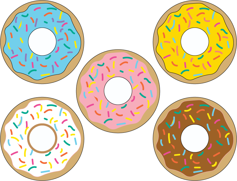 image about Donut Printable identify Donut Printables Wonderful Occasion Printables Donut birthday