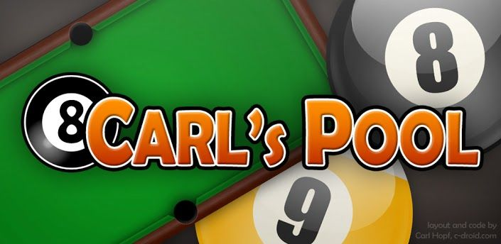 Android App Carl's Pool Review >> click on the image to