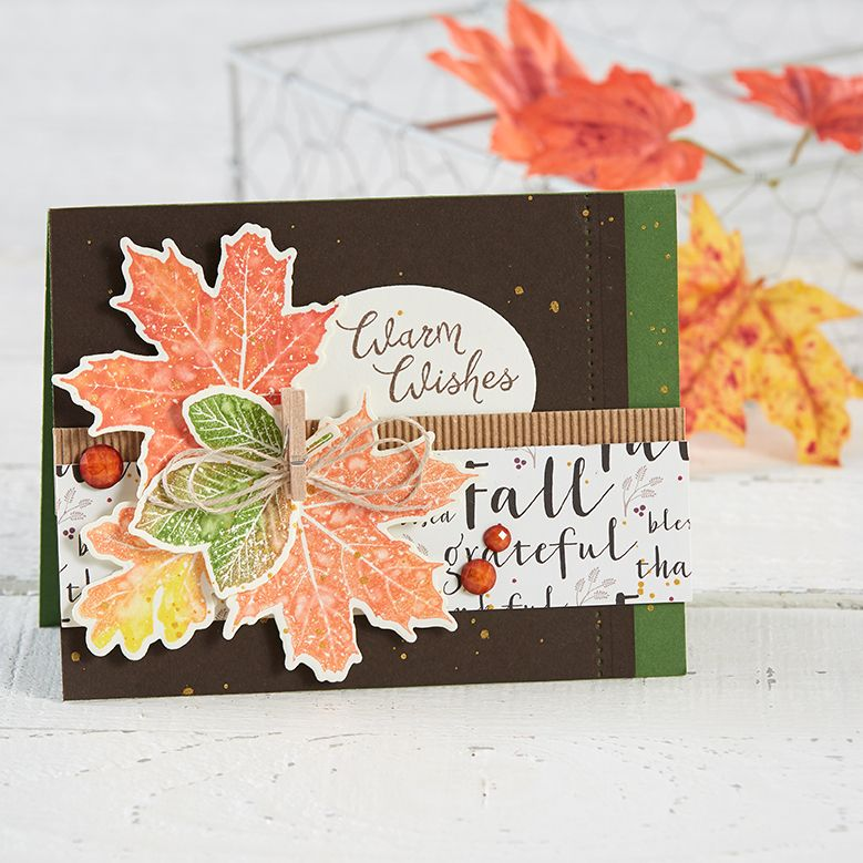 Delicieux Hello Fall Stamp Set August   December 2017