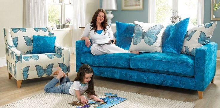 Dfs Escape Sofa Google Search Teal Butterflies Win Blue Sofa Blue Sofa Design Blue Leather Sofa