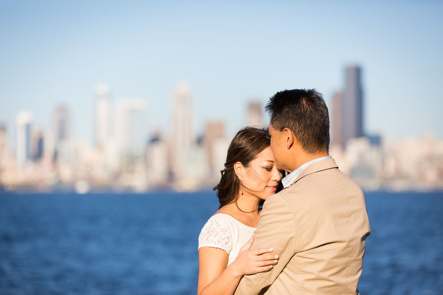 Seattle Engagement Session At Alki Beach