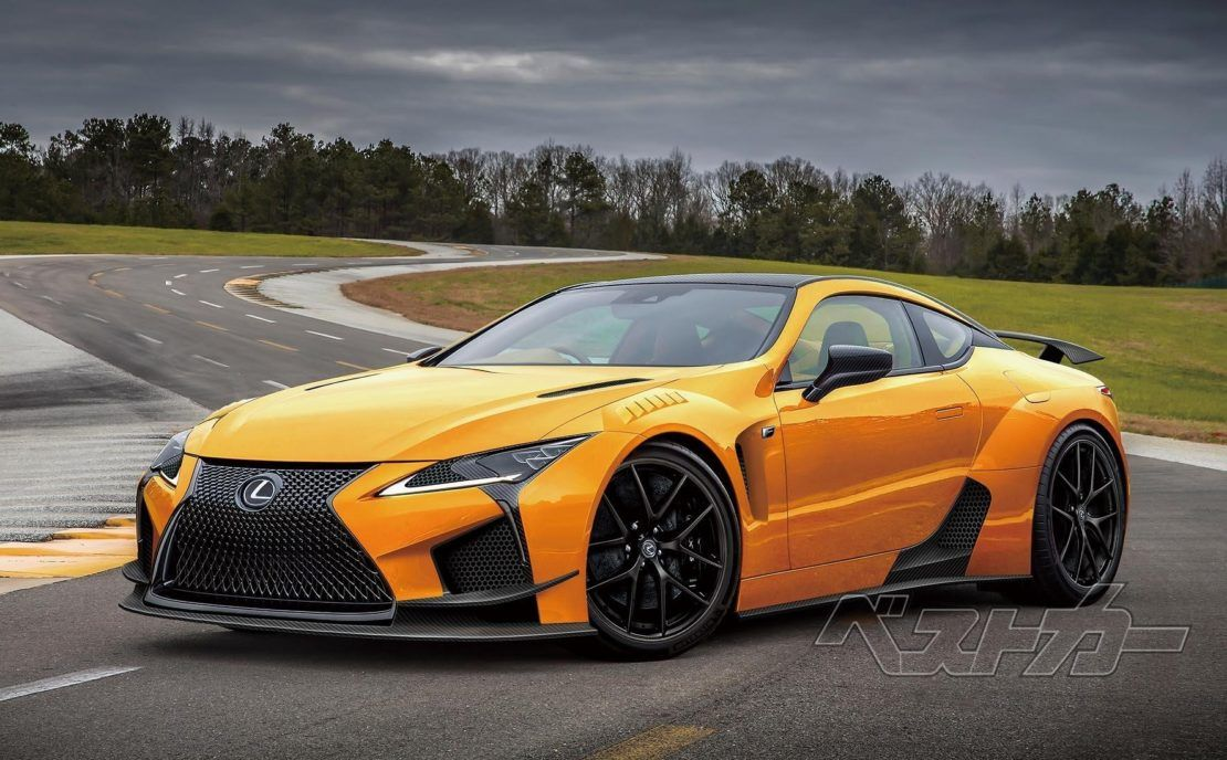 Lexus Lc F To Debut In 2019 With 600 Horsepower? Lexus