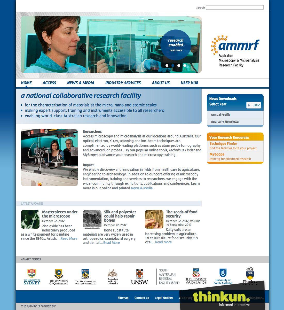http://www.ammrf.org.au/  AMMRF website