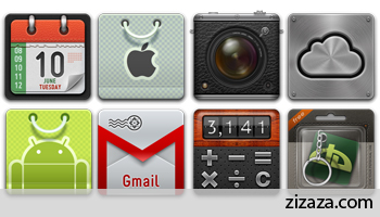 Icon set - Variations part 1 - Zizaza item for free