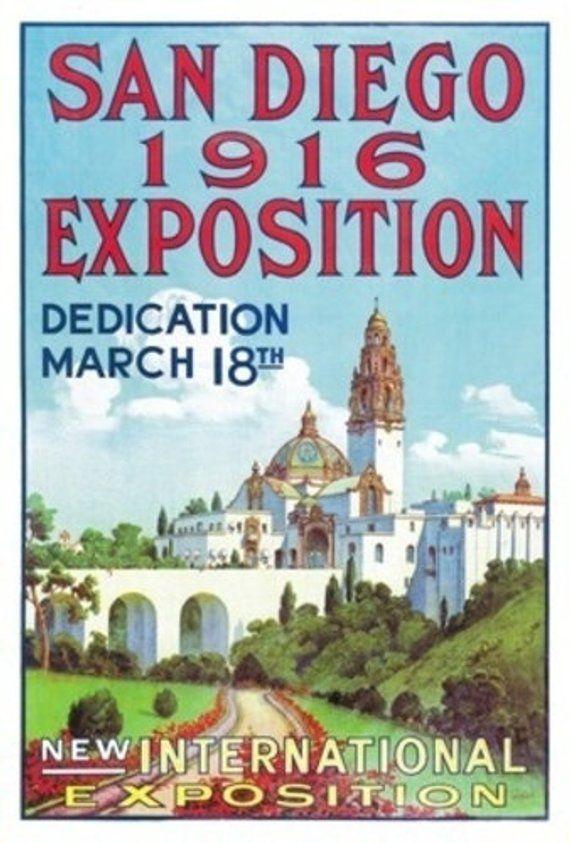 San Diego International Exposition Poster (Art Prints