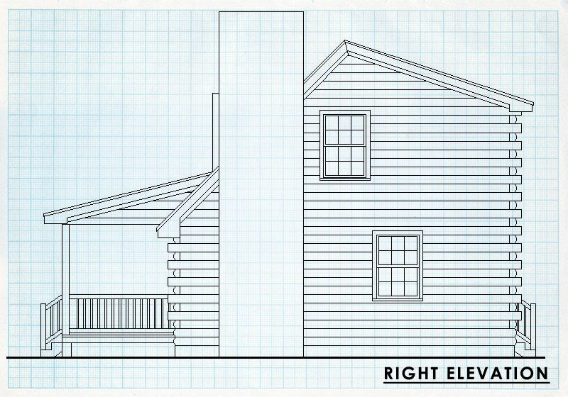 Log Home Design Plan and Kits for Bent Willow | Barn Homes ...