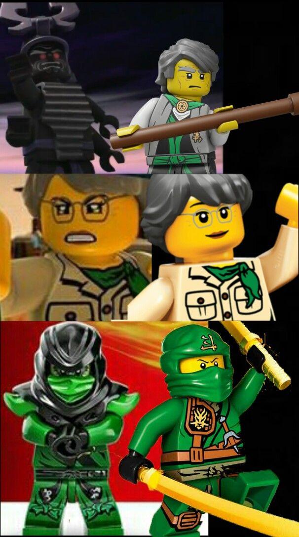 The Garmadon Family Good And Evil Lego Ninjago Ninja Outfit Cute Images