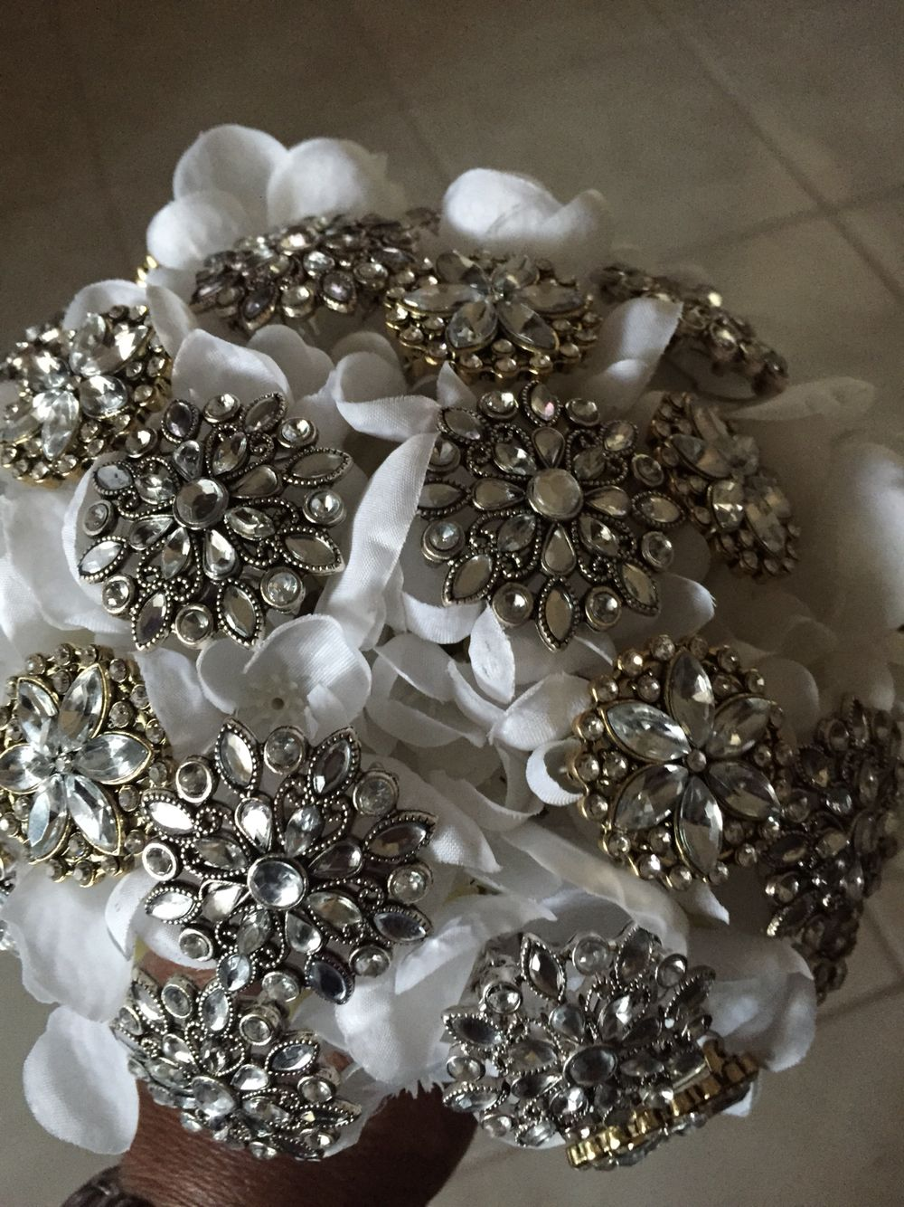 brooch bouquets how to make