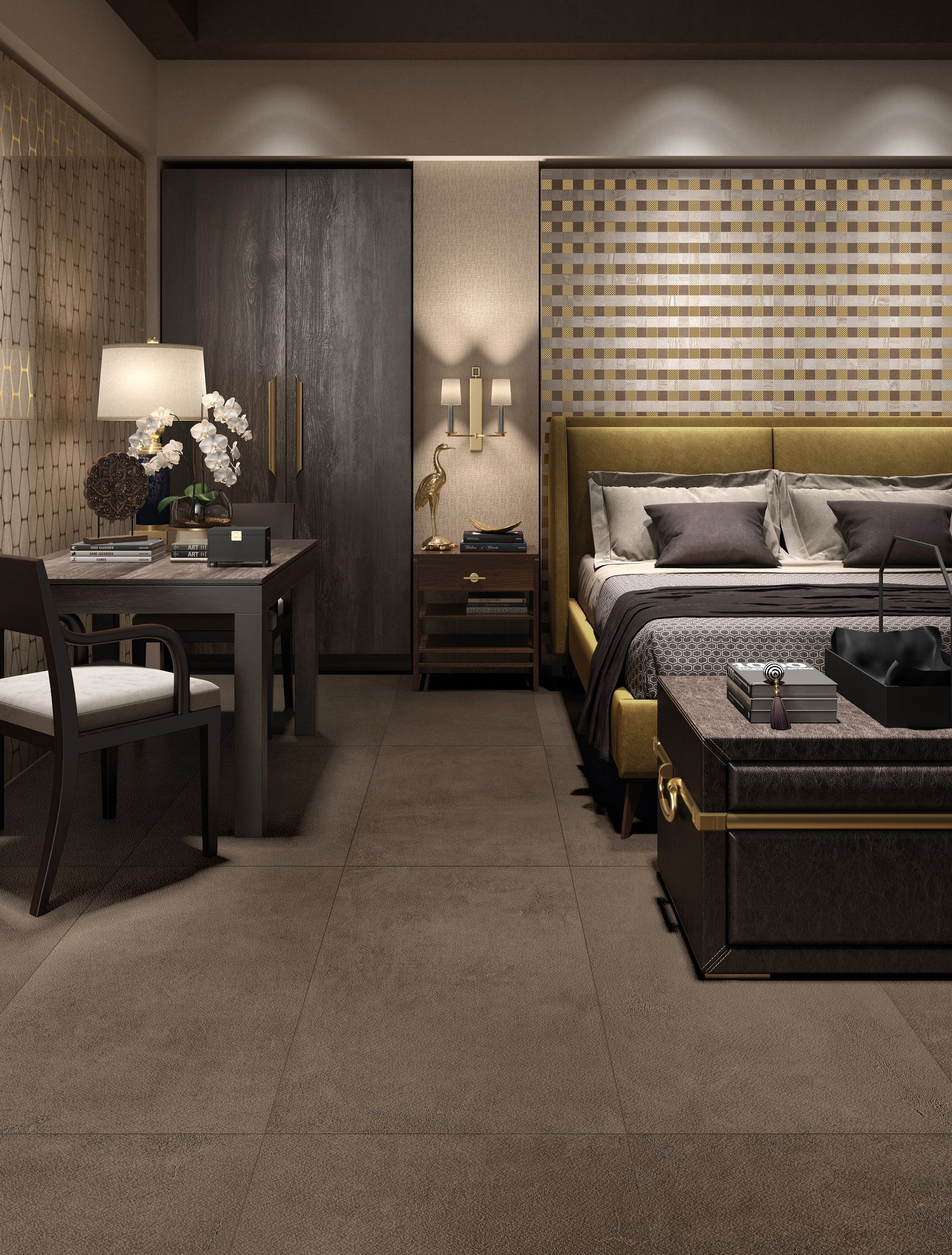 Choose tiles from our Flemings range for a warm backdrop