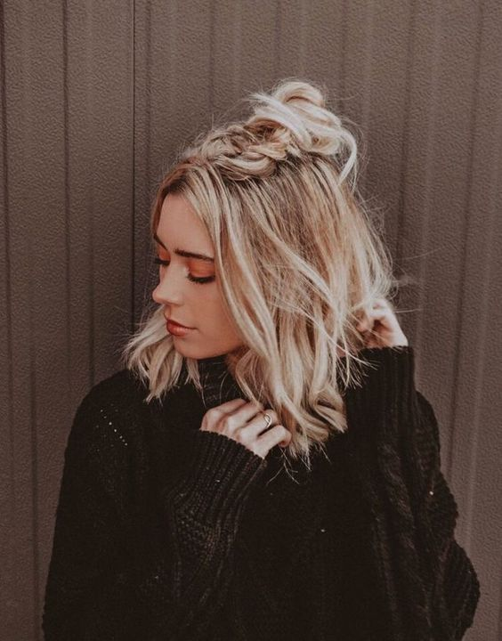 48+ Cute Hairstyles for Medium Length Hair 2019 Isabellestyle Blog #cutehairstylesformediumhair