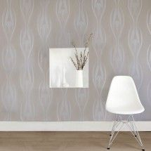 Tempaper Wall Coverings: Etta wall paper that peels off!