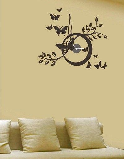 Ever heard of pasting your clock on the wall. Yes you can do the ...