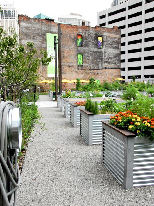 Urban Agriculture Landscape Architecture At The Asla Urban Garden Urban Agriculture Rooftop Garden