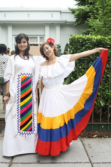 Traditional Dress Of Wayuu And Llanera In 2019